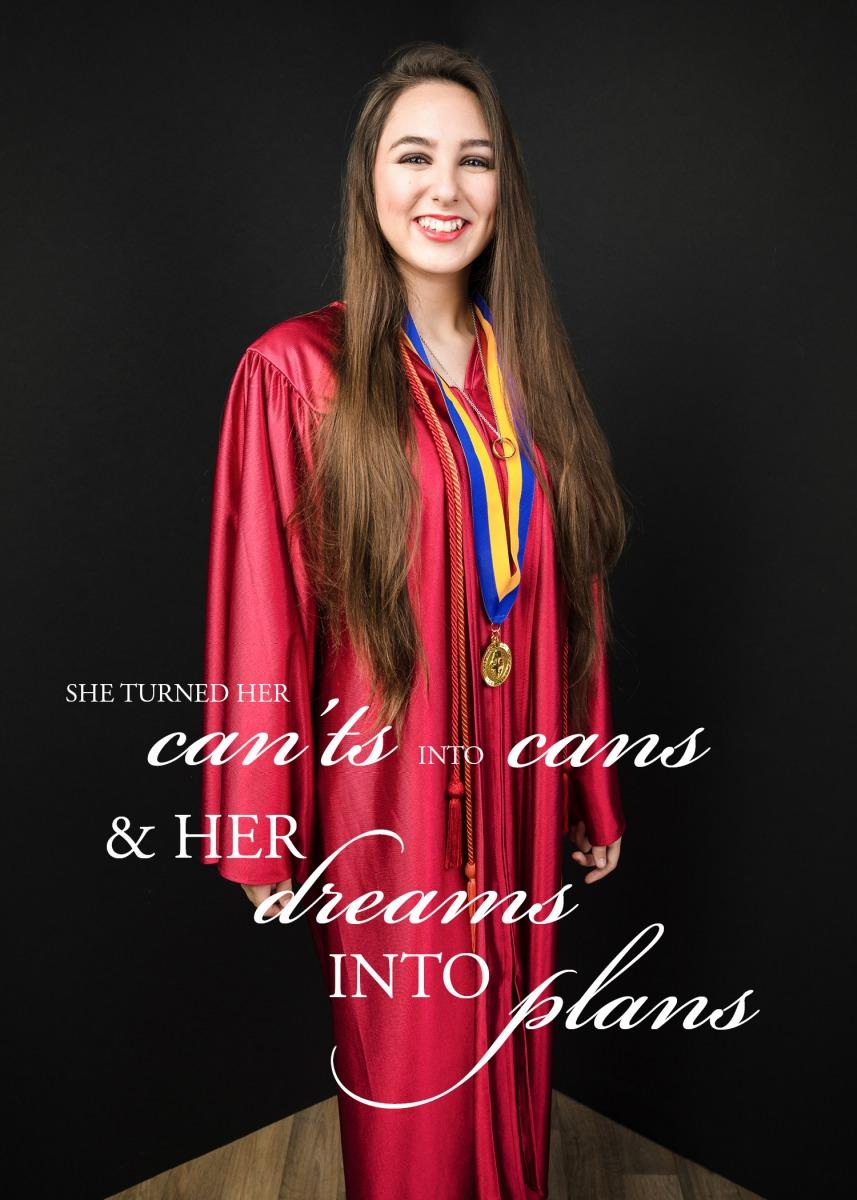 Graduation Announcement Portrait