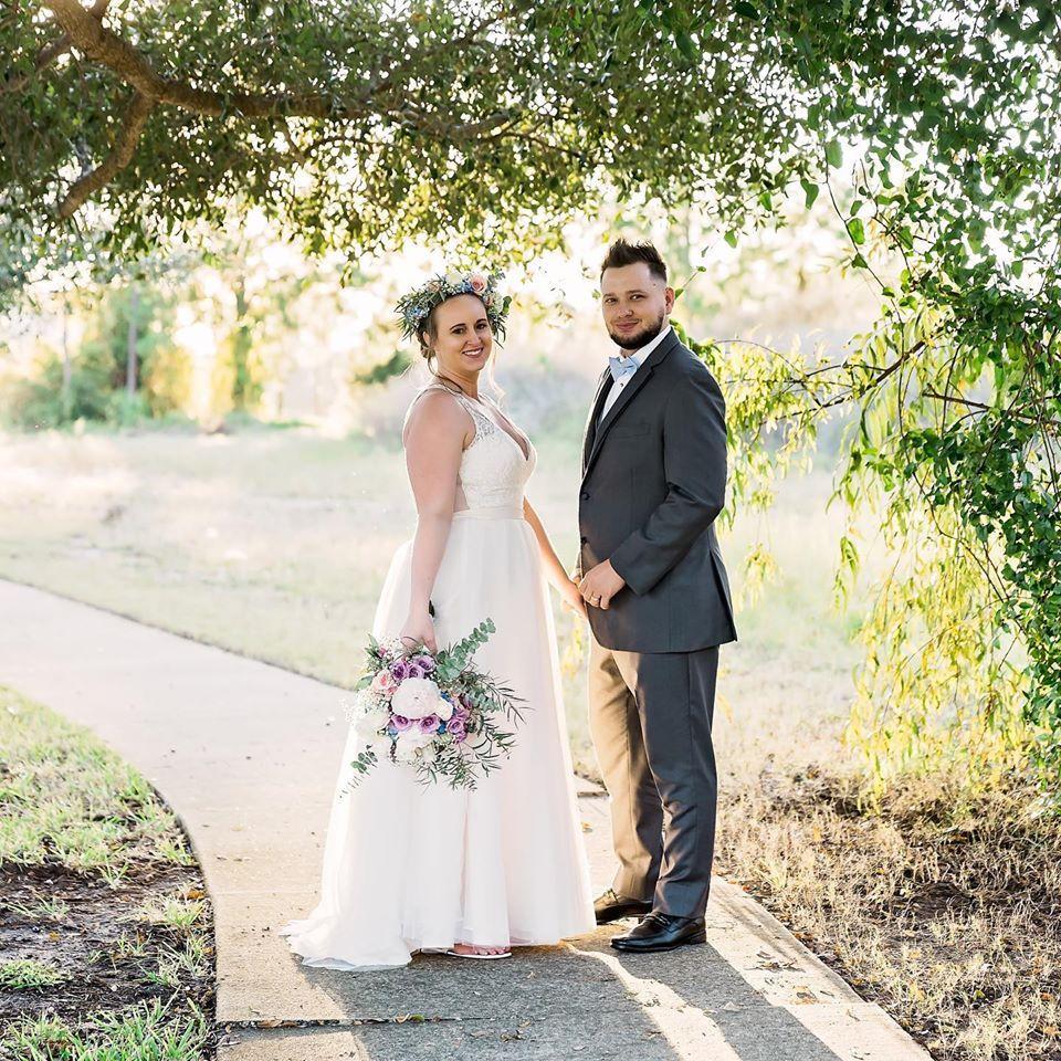 Boho Backyard Wedding