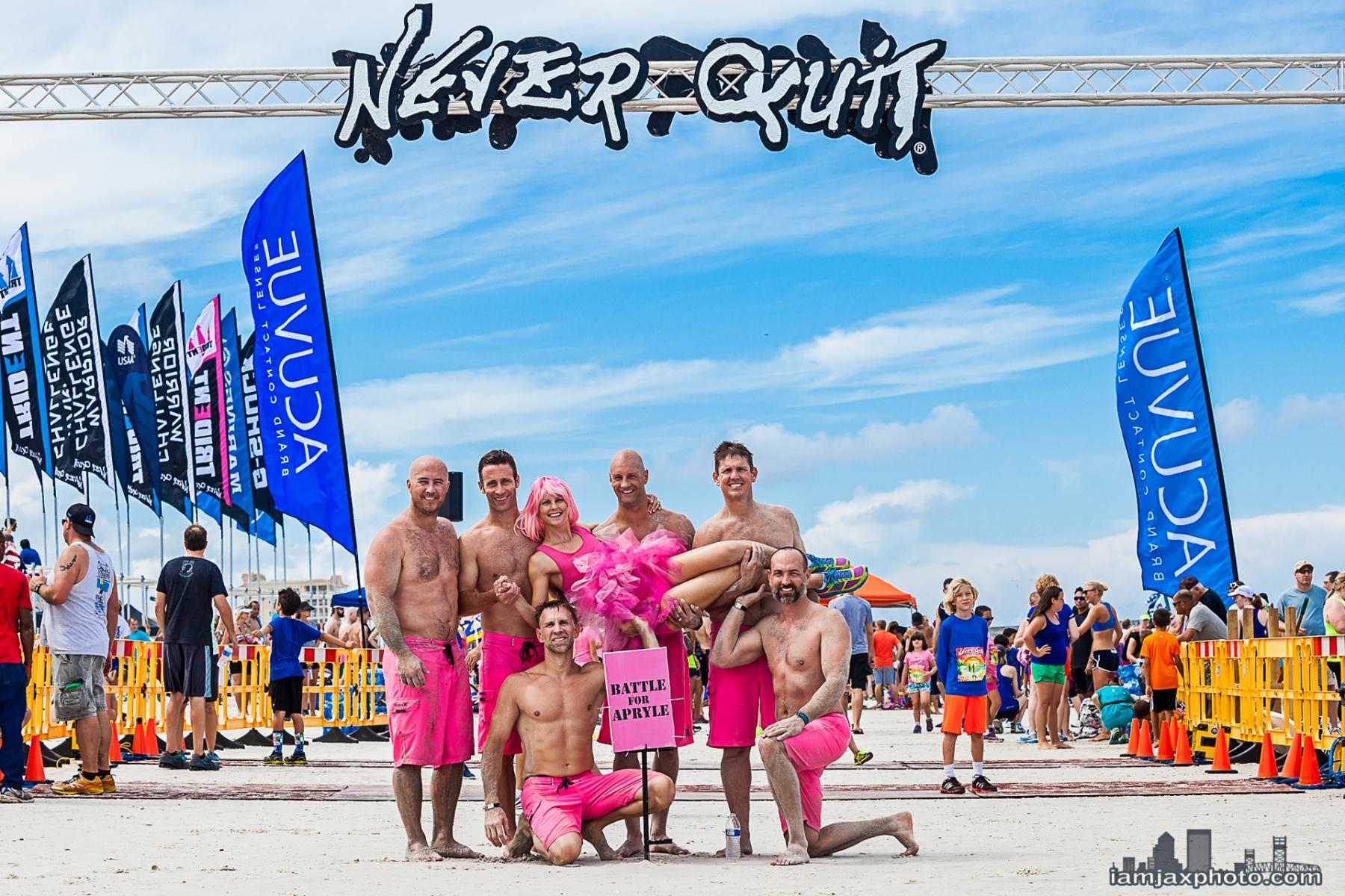 Battle for Beach, Apryle - Never Quit