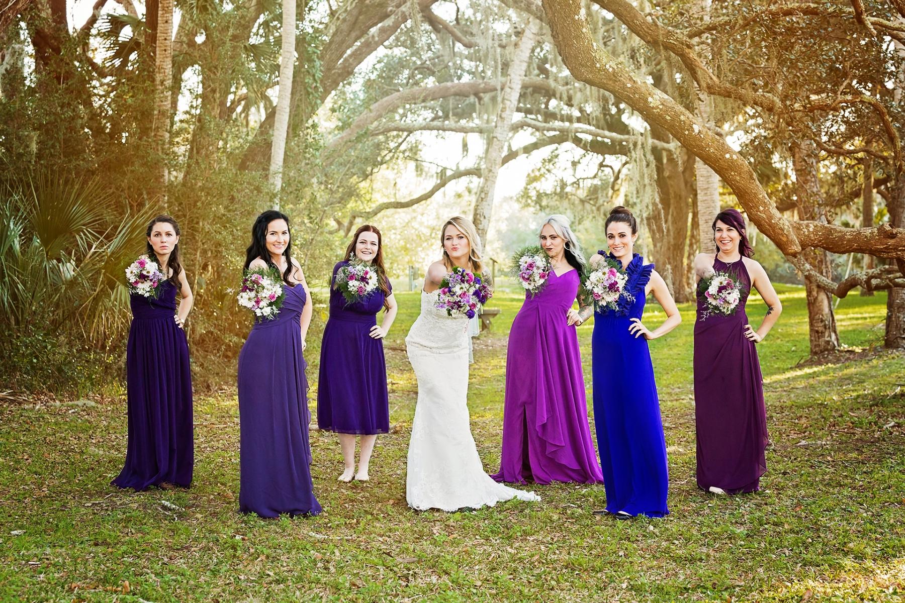 Ribault Club Wedding - Bridal Party