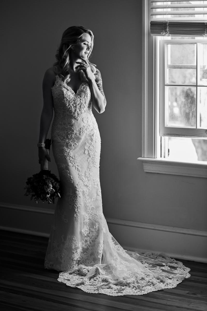 Ribault Club Wedding - Bridal Portrait