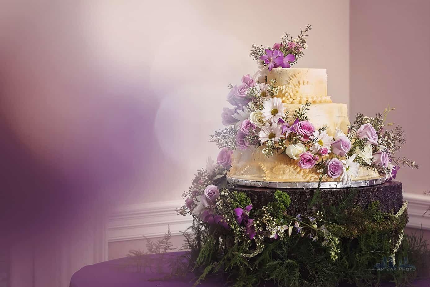Ribault Club Wedding - Wedding Cake