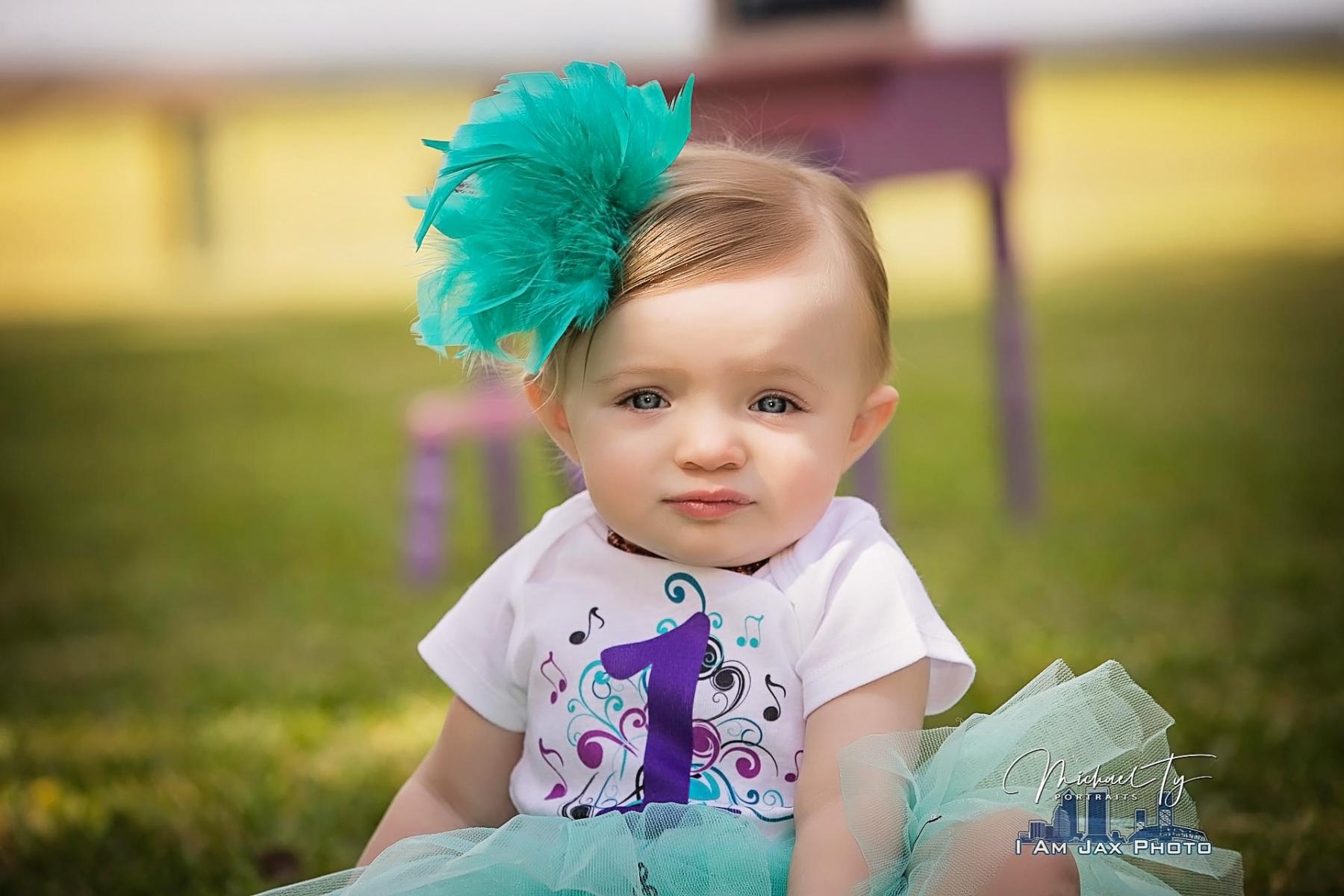 First Birthday Portrait - Jacksonville, FL