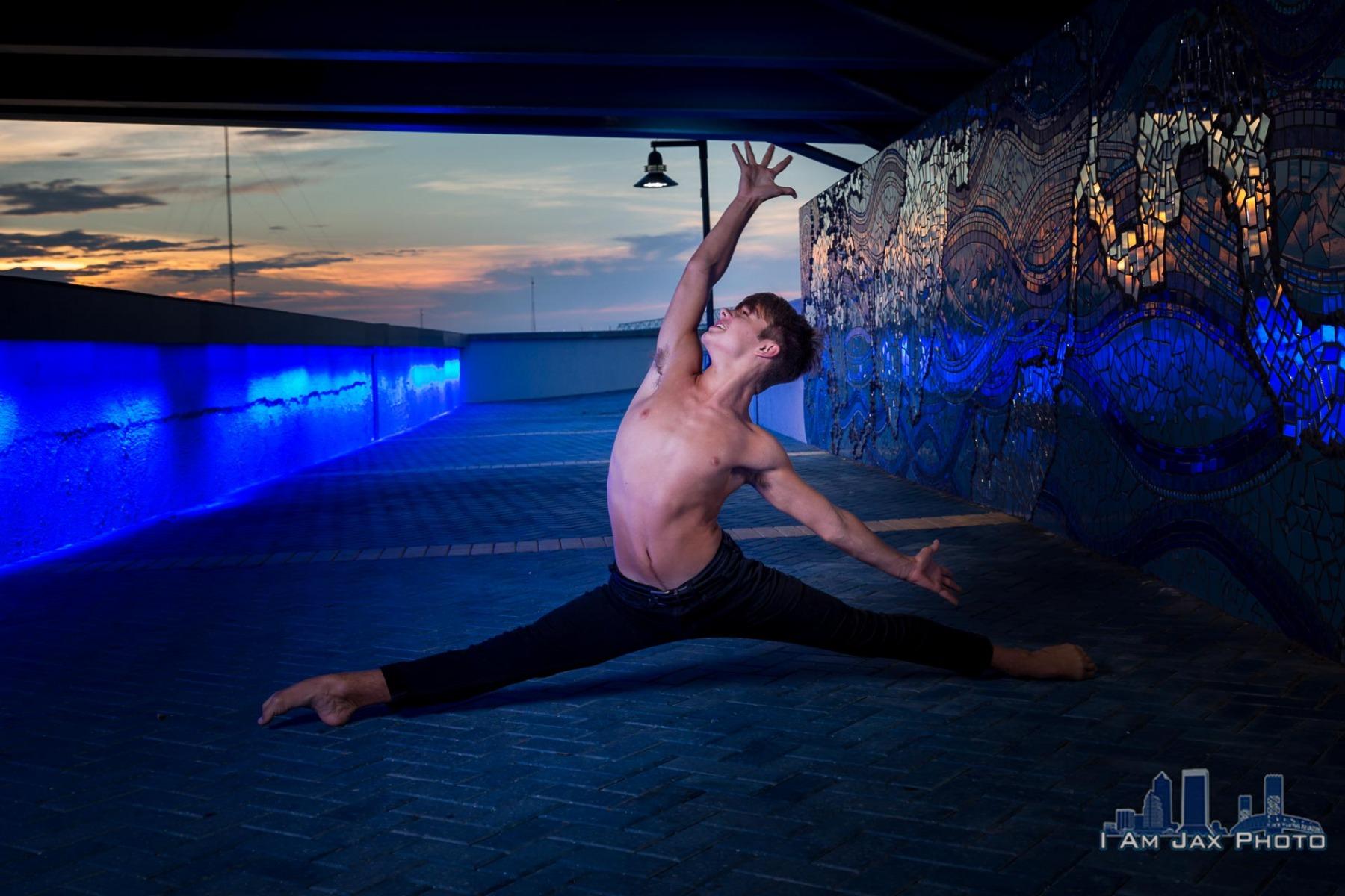 Dance Portrait - Downtown Jacksonville, FL