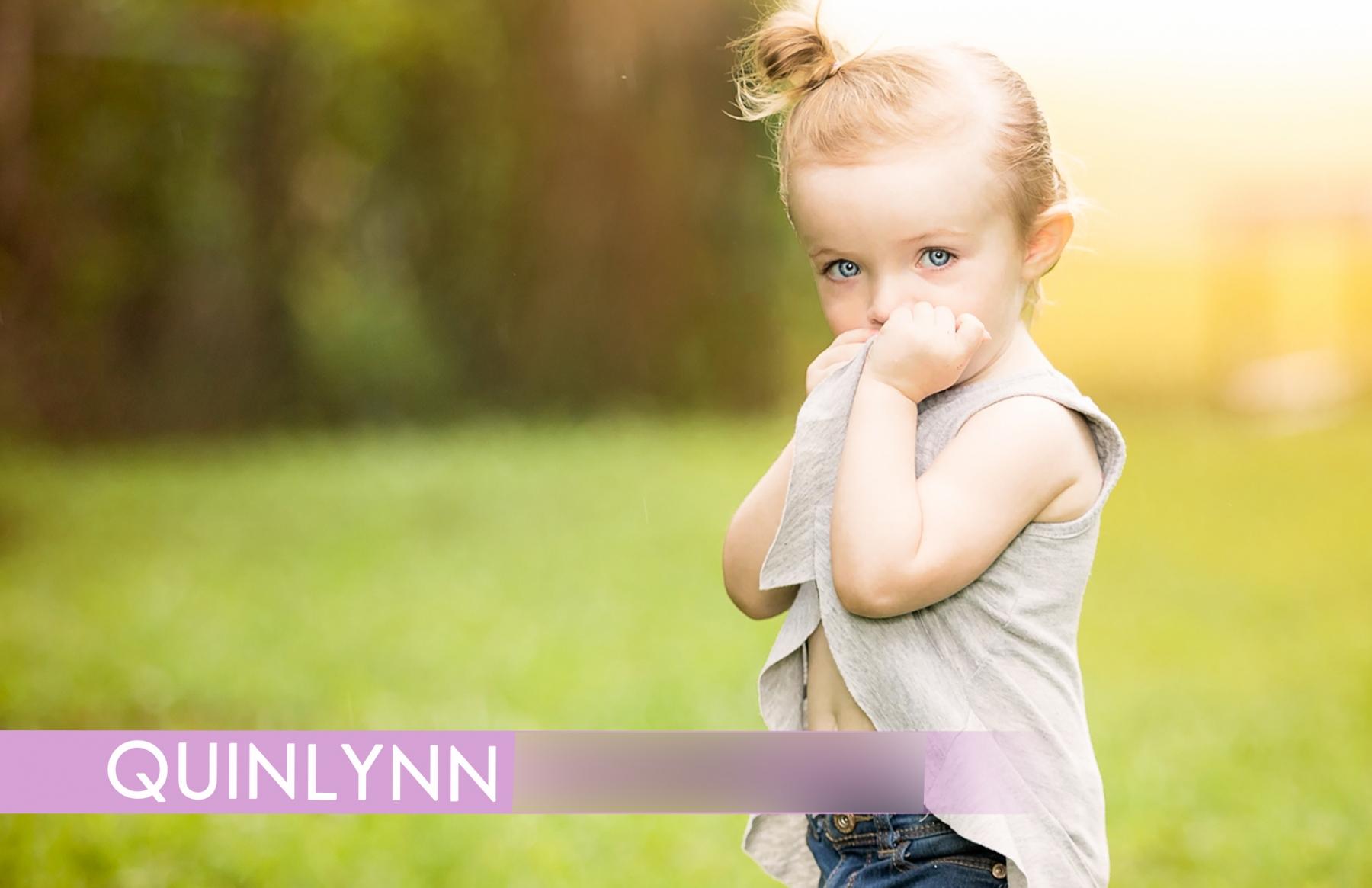 Toddler Modeling Portrait Comp Card - Jacksonville, FL